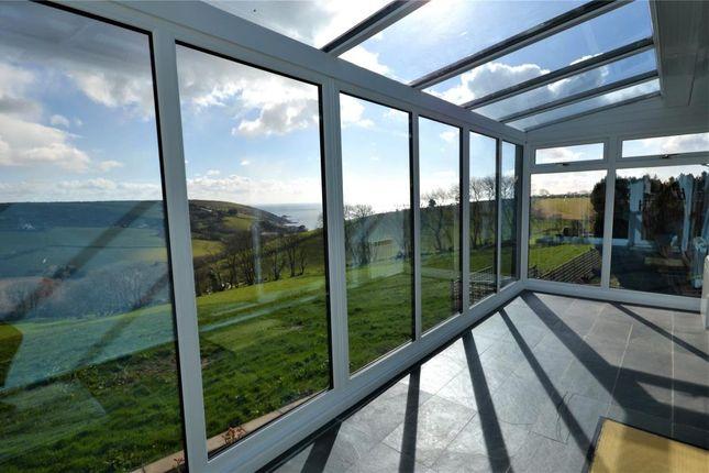 Conservatory of Claremont Falls, Killigarth, Looe, Cornwall PL13