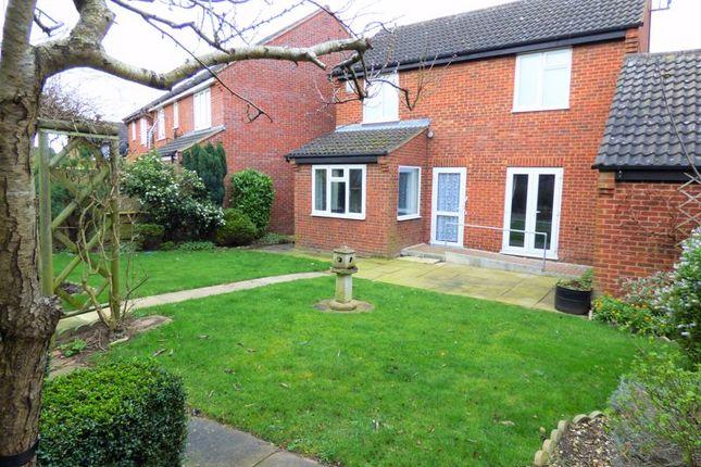 Rear Garden of Shatterstone, Wootton, Northampton NN4