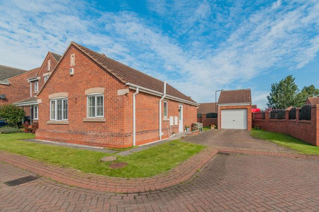 Thumbnail Detached bungalow for sale in Bellwood Court, Ravenfield, Rotherham