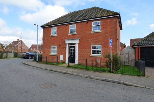 Thumbnail Detached house for sale in Lime Tree Avenue, Long Stratton