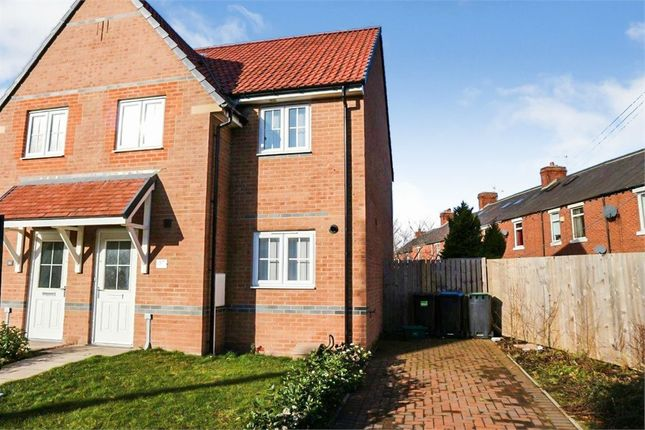 Thumbnail Semi-detached house for sale in Lilac Crescent, Burnopfield, Newcastle Upon Tyne, Durham