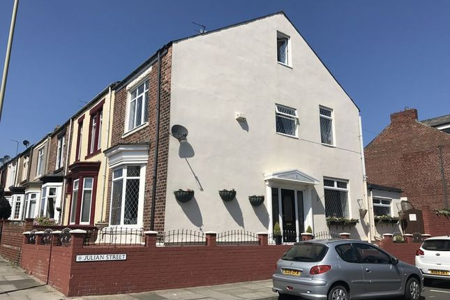 Thumbnail Terraced house for sale in Julian Street, South Shields