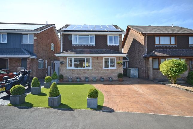 Thumbnail Detached house for sale in Stunning Extended House, Hawks Moor Close, Newport