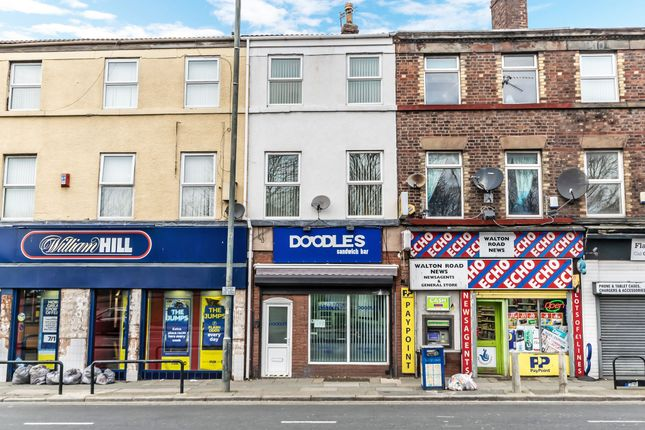 Thumbnail Retail premises for sale in Walton Road, Liverpool