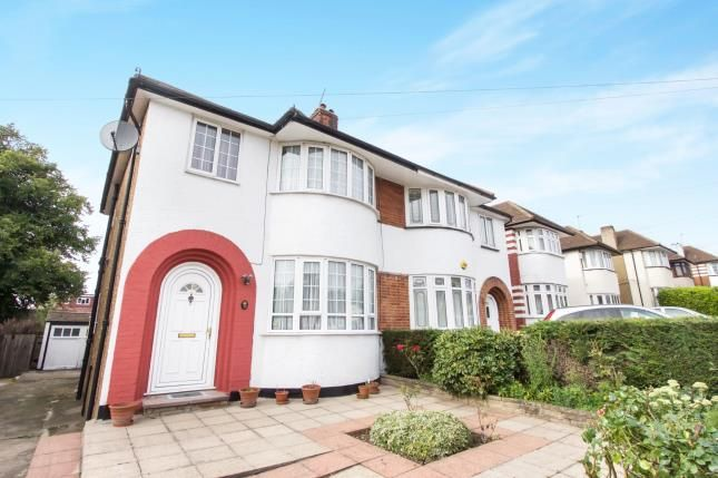Thumbnail Semi-detached house for sale in Summit Way, Southgate, London, .