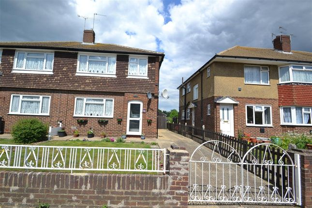 Thumbnail Semi-detached house for sale in Montrose Road, Feltham