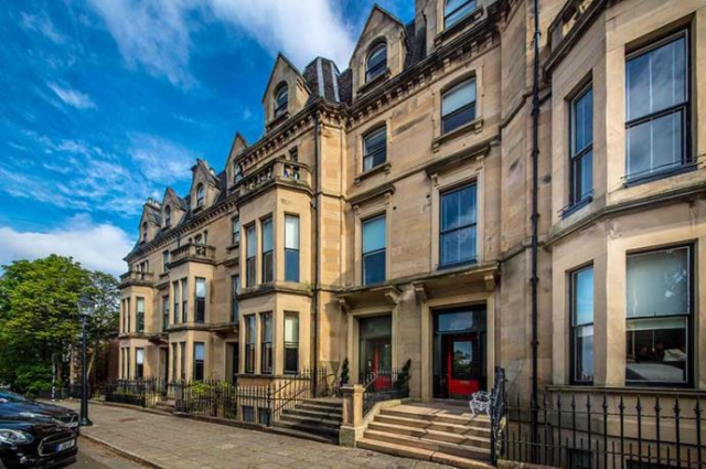 Thumbnail Flat to rent in Kingsbourough Gardens, Glasgow