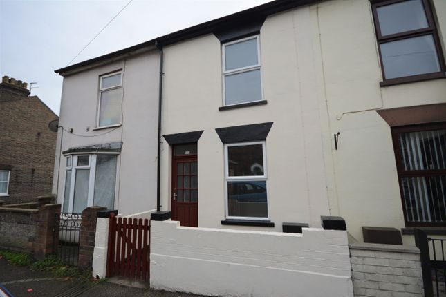 Thumbnail Terraced house to rent in St Margarets Road, Lowestoft, Suffolk