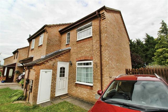 Thumbnail Semi-detached house to rent in Lowndes Grove, Shenley Church End, Milton Keynes
