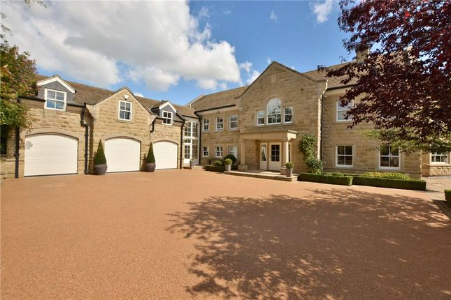 Thumbnail Detached house for sale in Birchdene, College Farm Lane, Linton, Wetherby, West Yorkshire