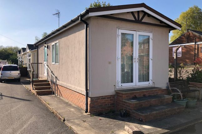 Thumbnail Mobile/park home for sale in Unicorn Park, Unicorn Street, Thurmaston, Leics