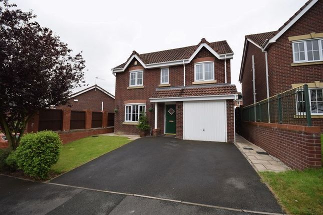 Thumbnail Detached house for sale in Emerald Way, Milton, Stoke-On-Trent