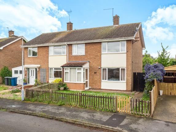 Thumbnail Semi-detached house for sale in Broadmeer, Cotgrave, Nottinghamshire, Nottingham