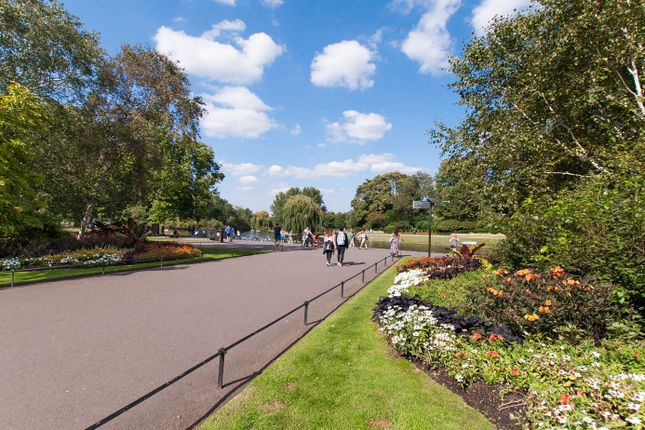 Regent's Park  of Marylebone Road, Marylebone, Central London NW1