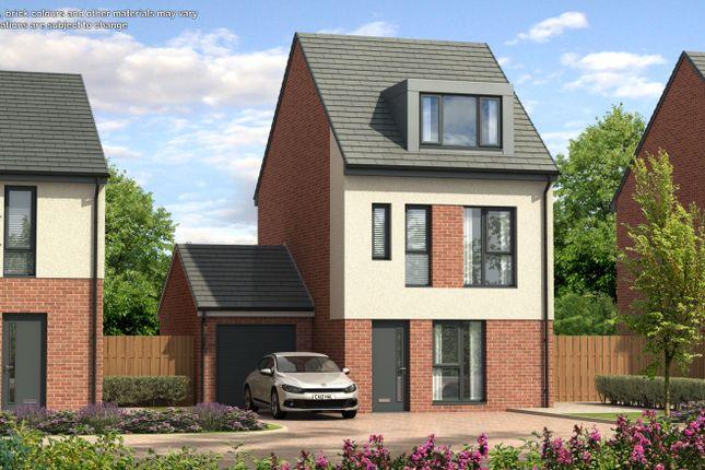 Thumbnail Detached house for sale in St Paul's Place, Doddington Drive, Cramlington