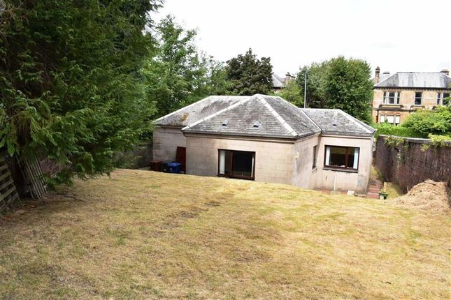 Thumbnail Detached bungalow for sale in Lindores Lodge, 59, Newark Street, Greenock