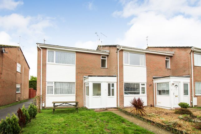 Thumbnail Flat for sale in Border Road, Upton, Poole
