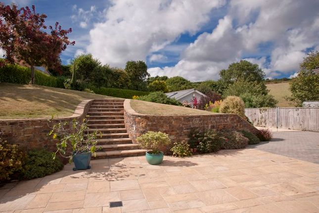 Rear Garden of Freshwater Lane, St Mawes, Cornwall TR2