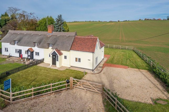 Thumbnail Cottage for sale in Lower Road, Glemsford, Suffolk