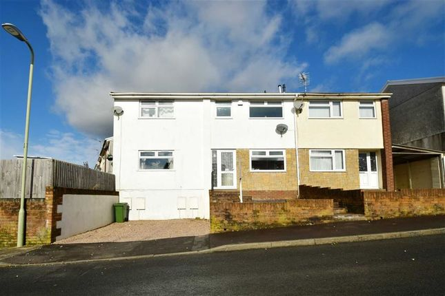Thumbnail Terraced house for sale in Foel View Close, Llantwit Fardre, Pontypridd