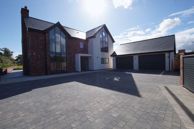 Thumbnail Detached house for sale in Mulberry House, Llyndir Lane, Rossett