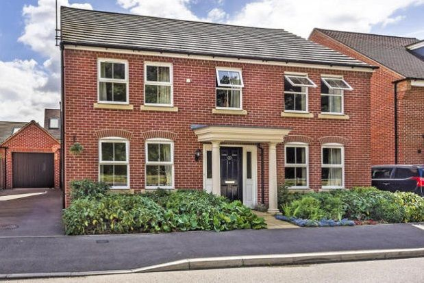 Thumbnail Detached house to rent in Chilworth Way, Sherfield-On-Loddon, Hook