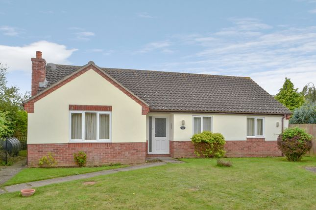Thumbnail Detached bungalow for sale in Samuel Vince Road, Fressingfield, Eye