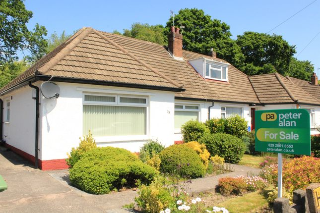 Thumbnail Semi-detached bungalow for sale in Heol Y Bont, Rhiwbina, Cardiff