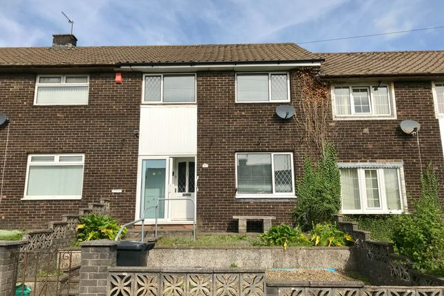 Thumbnail Terraced house for sale in Sycamore Road, Gurnos, Merthyr Tydfil