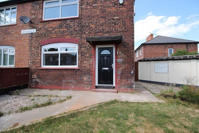 Thumbnail Semi-detached house to rent in Victoria Avenue, Blackley, Manchester