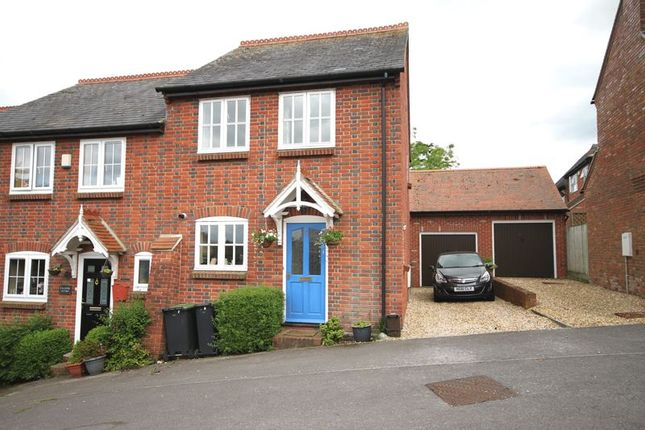 Thumbnail End terrace house to rent in St. Andrews View, Milborne St. Andrew, Blandford Forum