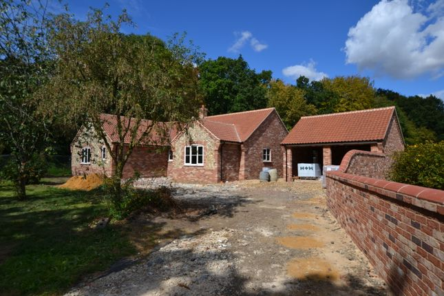Thumbnail Detached bungalow for sale in The Close, Watton Road, Stow Bedon, Attleborough