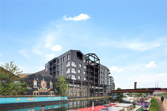 Thumbnail Flat for sale in Legacy House, 4A Roach Road, London