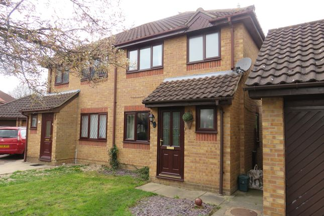 Thumbnail Semi-detached house for sale in Grassmere, Highwoods, Colchester