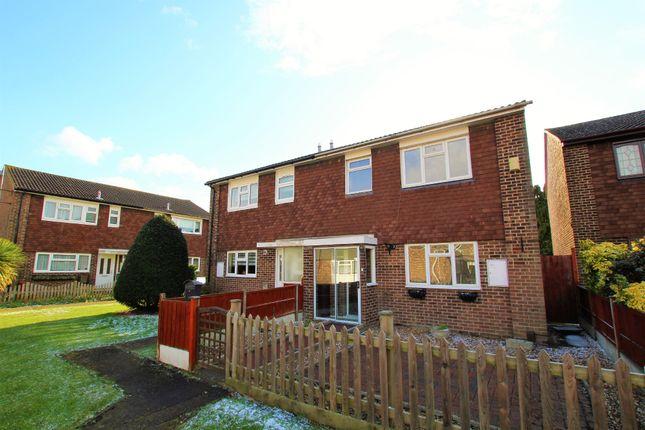 Thumbnail Semi-detached house to rent in Portnoi Close, Rise Park, Romford