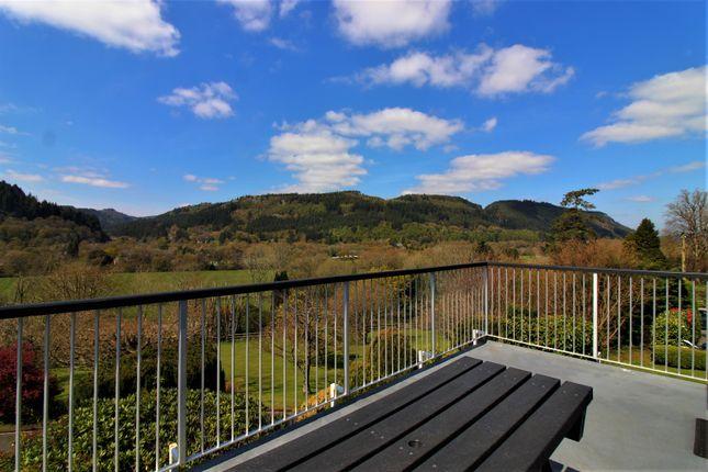 Balcony Views of Llanrwst Road, Betws-Y-Coed LL24