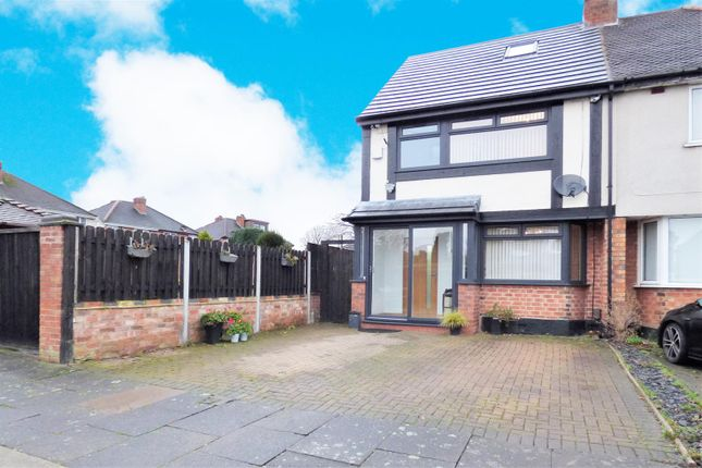 Thumbnail Semi-detached house for sale in Falmouth Road, Hodge Hill, Birmingham
