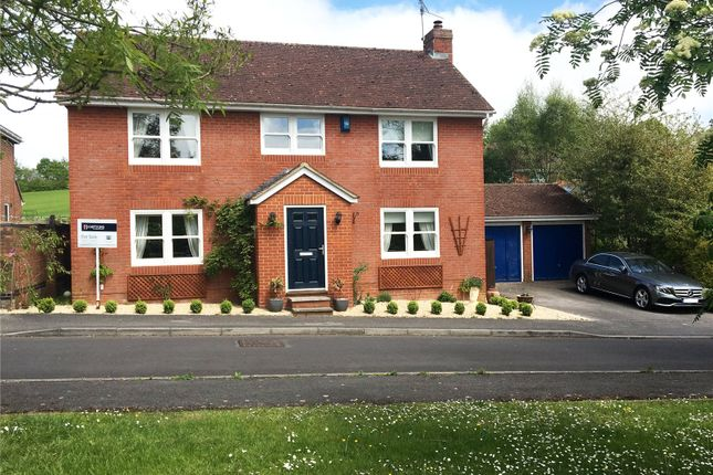 Thumbnail Detached house for sale in Macneice Drive, Marlborough, Wiltshire