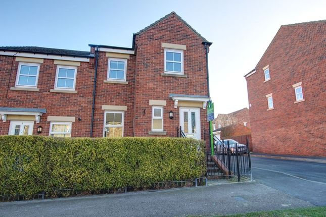 Thumbnail Terraced house to rent in Kings Avenue, Langley Park, Durham