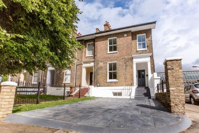 Thumbnail End terrace house for sale in Andrews Road, London