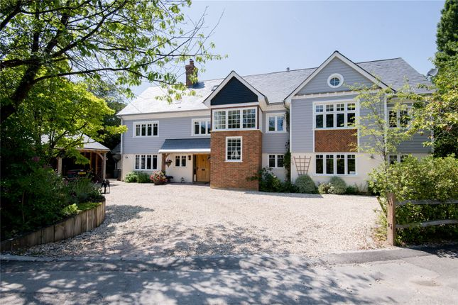 Thumbnail Detached house for sale in Hazeley Lea, Hartley Wintney, Hook