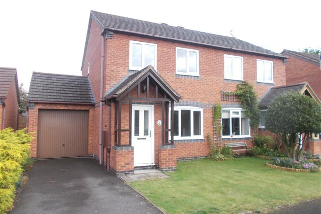 Thumbnail Semi-detached house for sale in Curia Close, Shrewsbury