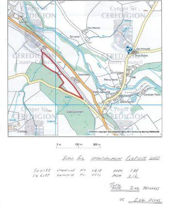 Os Plan of Dol-Y-Bont, Borth SY24