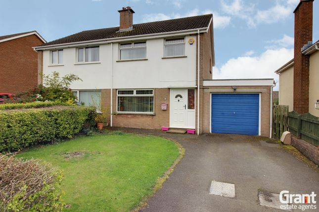 Thumbnail Semi-detached house for sale in Hollymount Road, Newtownards