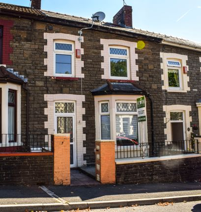 Thumbnail Terraced house to rent in Penrhys Ave, Tylorstown