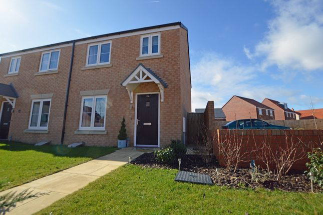 Thumbnail Semi-detached house for sale in Butterbur Lane, Scarborough