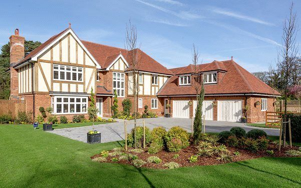 Thumbnail Detached house for sale in Eastwood Place, Eversley, Hook, Hampshire