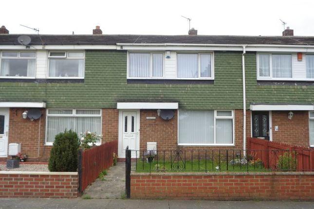 Thumbnail Terraced house to rent in Ashley Gardens, Choppington