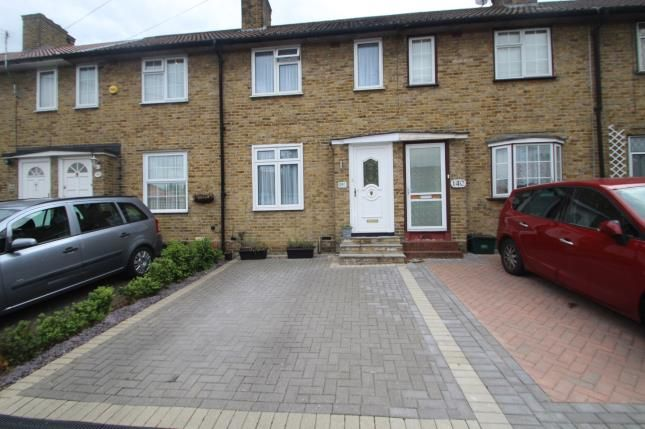 Thumbnail Terraced house for sale in Shaftesbury Road, Carshalton