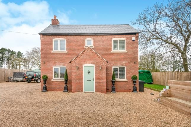 Thumbnail Detached house for sale in Old Hall Cottages, Ivestsey Bank, Wheaton Aston, Staffordshire